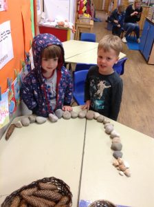 counting stones