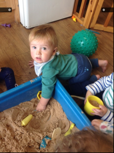we often have sand and water to explore